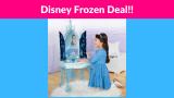 37% OFF! Disney Frozen 2 Elsa's Enchanted Ice Vanity