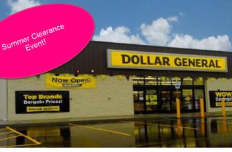 Dollar General Clearance Event – Big List!