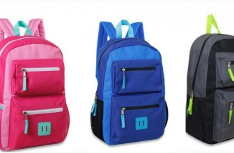 $4.88 18-Inch Double Pocket Backpacks!