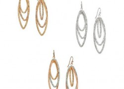 $2.99 (reg $15) Trio Twist Avon Earrings