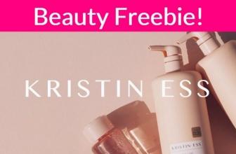 FREE Kristin Ess Hair Products!