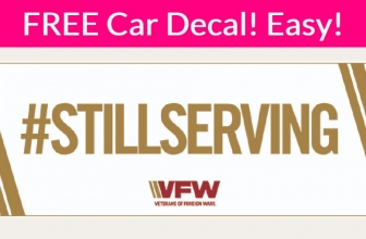 Super EASY FREEBIE! #StillSurving Car Decal / Sticker! And FACE MASK!
