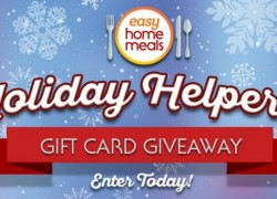 $50 Holiday Helpers Gift Card Giveaway