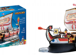 $17 (Reg. $39.99) PLAYMOBIL Roman Warriors' Ship!