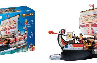 $17 (Reg. $39.99) PLAYMOBIL Roman Warriors' Ship!