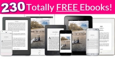 RUN! 230 Completely FREE Ebooks! { Including 30 Classics! }