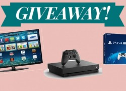 [DAILY ENTRY] Win a  Samsung TV, Xbox One S, Playstation AND MORE!
