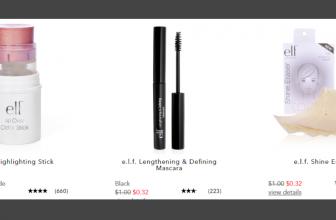 Huge Elf Makeup Sale! Prices start at ONLY $0.32 Cents.