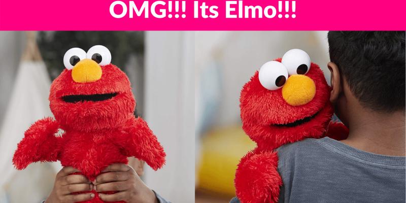 53% OFF! Love to Hug Elmo!