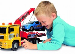 Dickie Toys 21″ Air Pump Action Tow Truck Vehicle