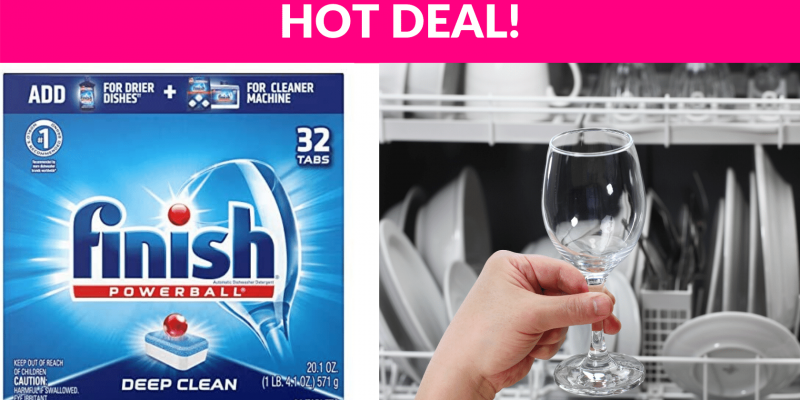 Finish All in 1 Powerball Dish Detergent