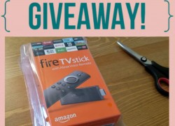 Win an Amazon Fire Stick!