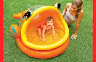 Intex Lazy Fish Shade Baby Pool $13
