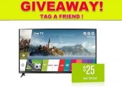 WIn A  LG 65-Inch 4K Ultra HD Smart LED TV!