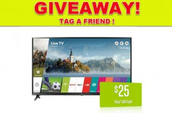 WIn A  LG 65-Inch 4K Ultra HD Smart LED TV!