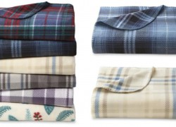 Fleece Throws For ONLY $3.99 ( reg. $9.99 ) ! Awesome Gifts!