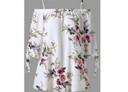 Plus Size FLoral Print Top Only $9.99!