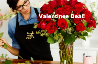 $30 or $40 Worth of Valentine's Day Flowers and Gifts from FTD (Up to 57% Off)