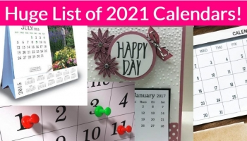 11 Place To Get FREE 2021 Calendars!