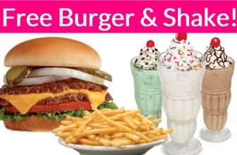 Free Burger and Fries at Steak 'n Shake! So easy!