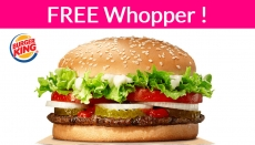YUMMY! Totally FREE  Whopper at Burger King ! UNLIMITED!