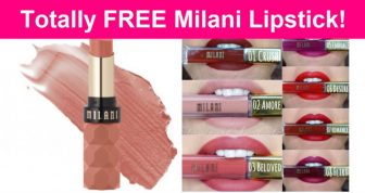 Possible FREE MILANI LipStick!