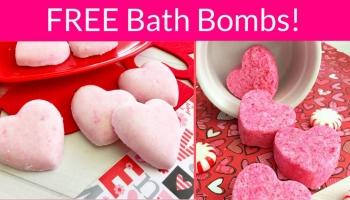 Totally FREE Bath BOMBS!
