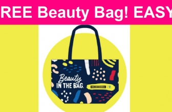 EASY! Free Beauty Bag From Dollar General!