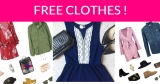 FREE $10 in Free Clothes or Accessories PLUS FREE SHIPPING!