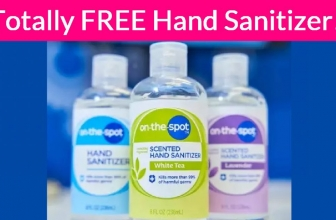 Easy FREEBIE! FREE Hand-Sanitizer!