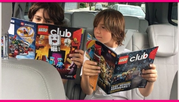Totally FREE by mail Subscription To LEGO Magazine!