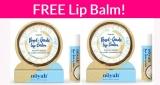 Totally FREE Lip Balm!