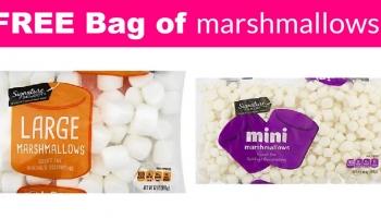 Easy! Free bag of Marshmallows!