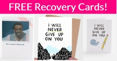 FREE Inspirational Cards by Mail!