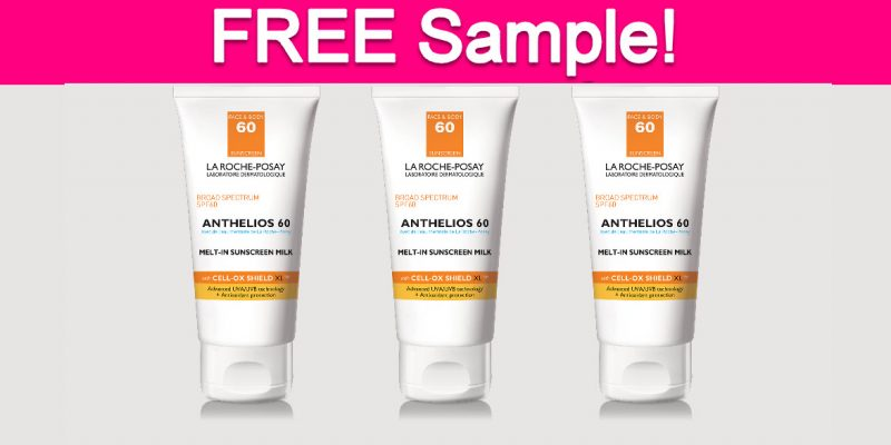 Free Sample by Mail of LaRoche-Posay Sunscreen!