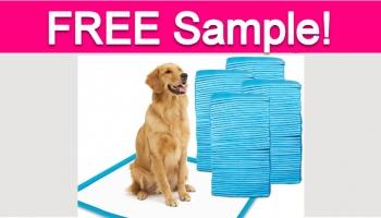 Free Dog Training Pads!