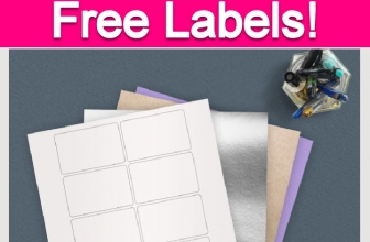 Free Sample of Address Labels!