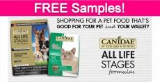 Free Canidae Dog & Cat Food Sample!