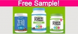 Free Sample of Orgain Protein Powder!