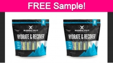 Free Sample of Hydrate & Recover Drink Mix!