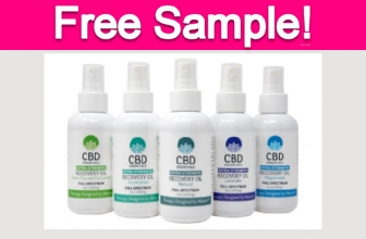Totally Free CBD Sample by Mail!
