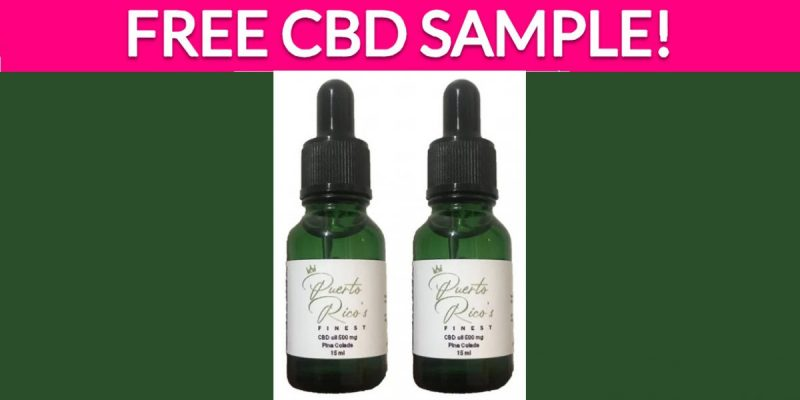 Free CBD Sample!