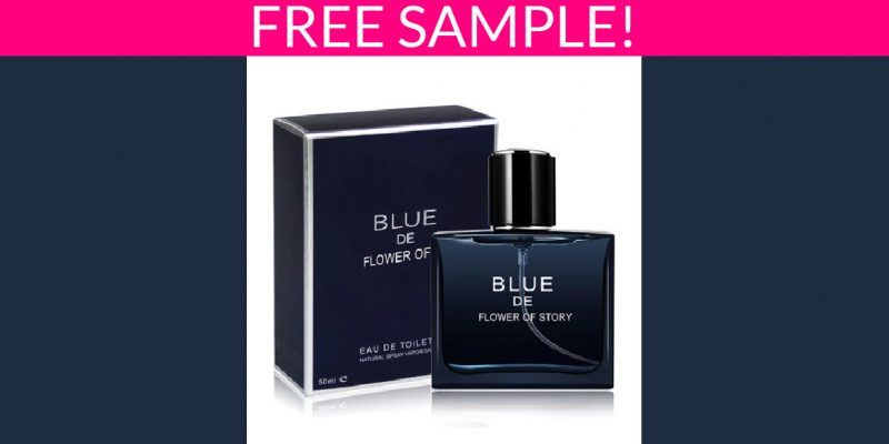 Free Sample of BLUE De Flower Story Fragrance!