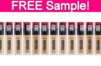 Free Sample of L'Oreal Infallible 24 Hour Foundation!