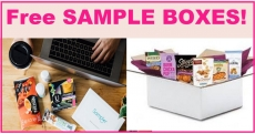 List of 14 FREE Sample BOXES!