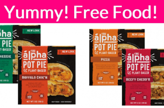 YUMMY! Easy FREE Pie! Free Food.