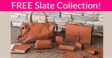 WOW! FREE Slate Collection Sample!