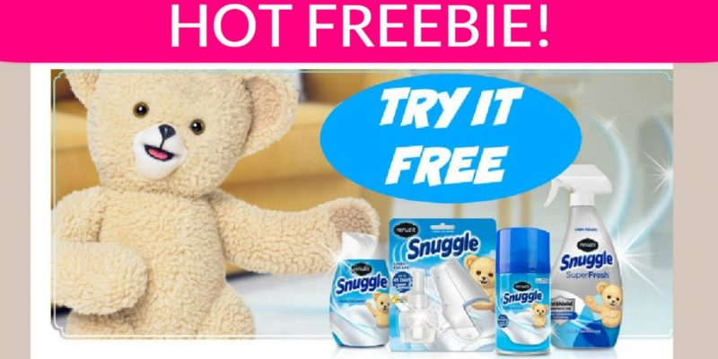FREE FULL SIZE SNUGGLE Samples! Up to $10.00 !