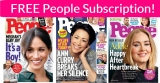 FREE 1 Year Subscription to People Magazine!