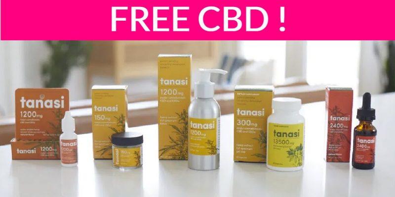 Free Tanasi CBD By Mail!
